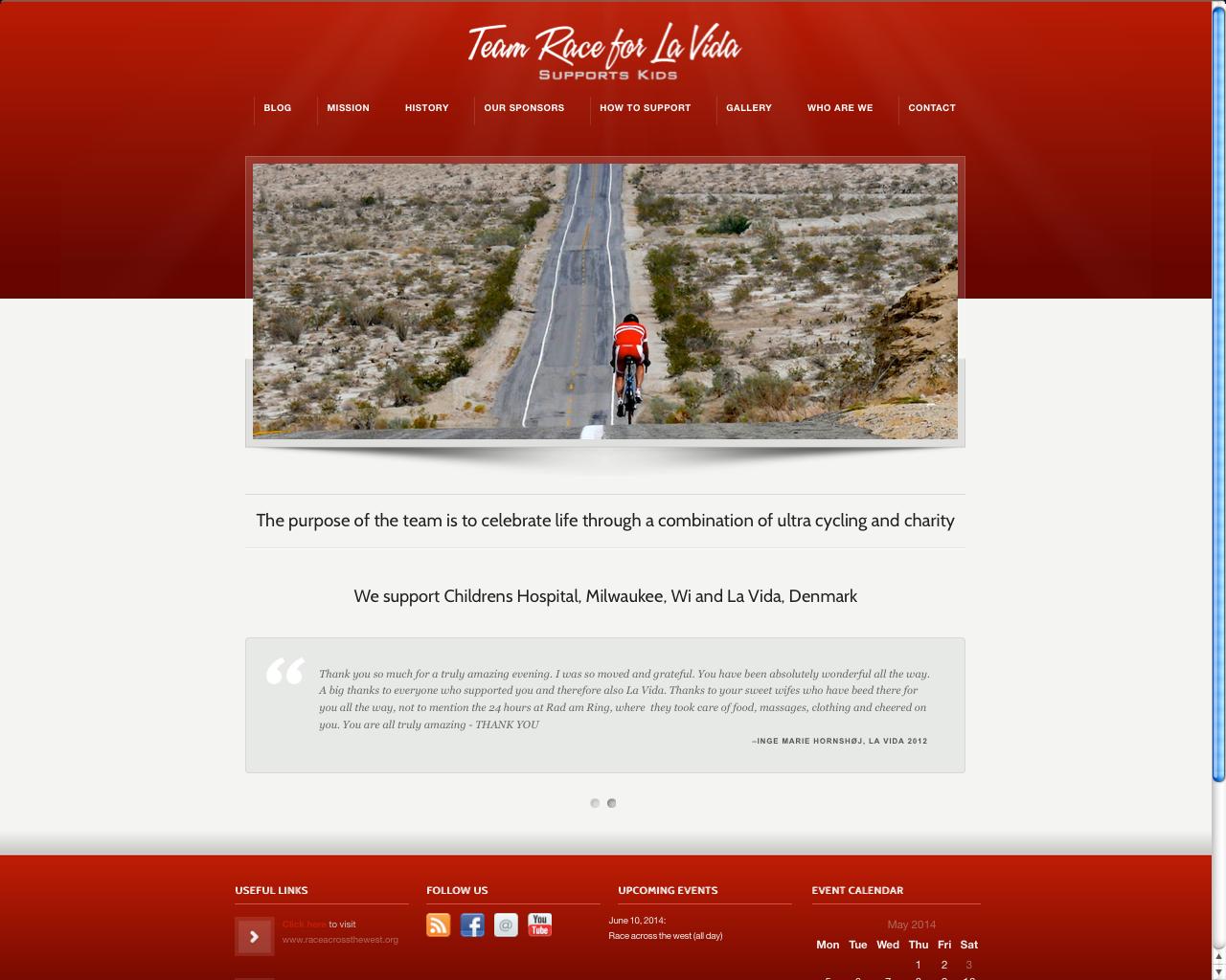 www cykelhold for velgørenhed