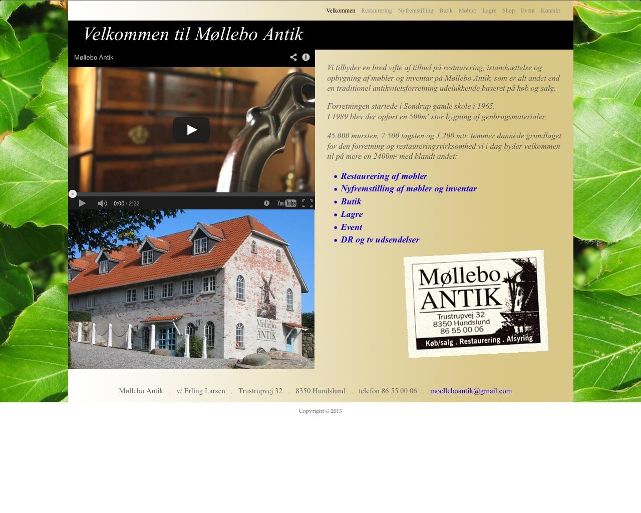 www til antikvitetsbutik